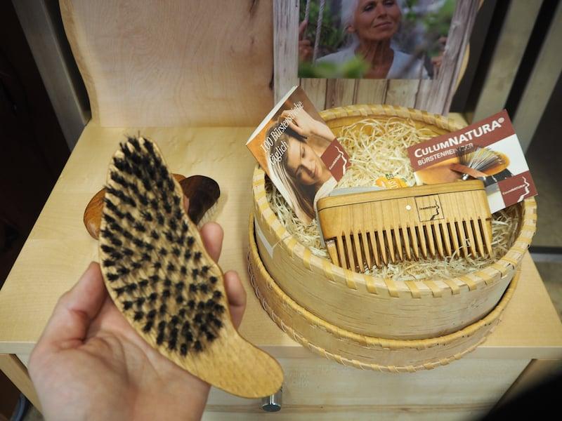 """... auch zahlreiche Infos zum eigentlichen Anliegen der Familie Luger: Mit """"Culum Natura"""" die Naturkosmetik in der Haarpflege voranzutreiben ..."""