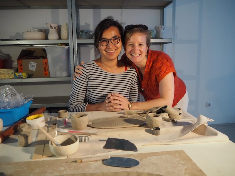 ... I love meeting Annick Galimont for creative travel in the area ...