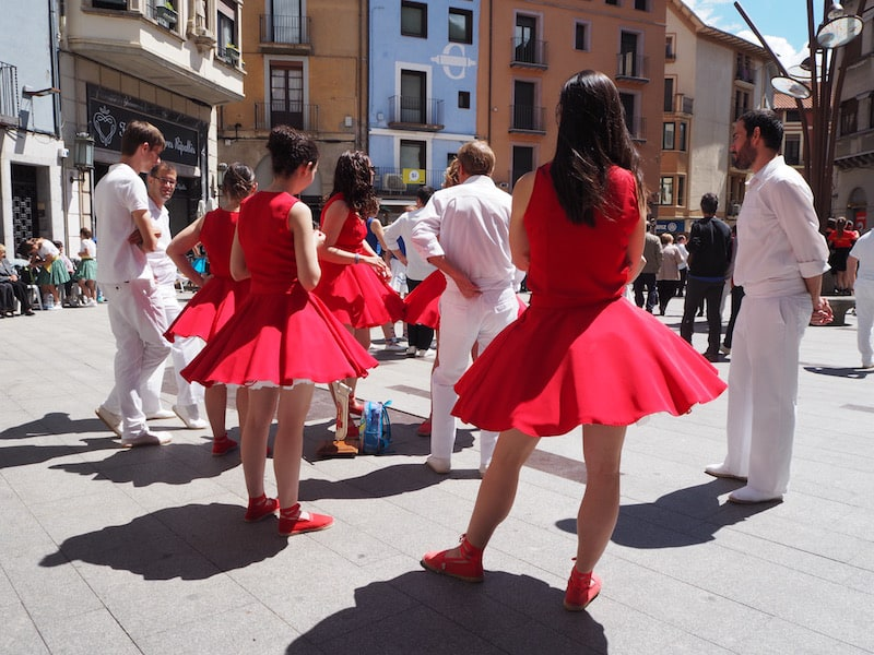 "A little further up the road, traditional ""Sardana Dances"" take place in the mountain town of Ripoll."