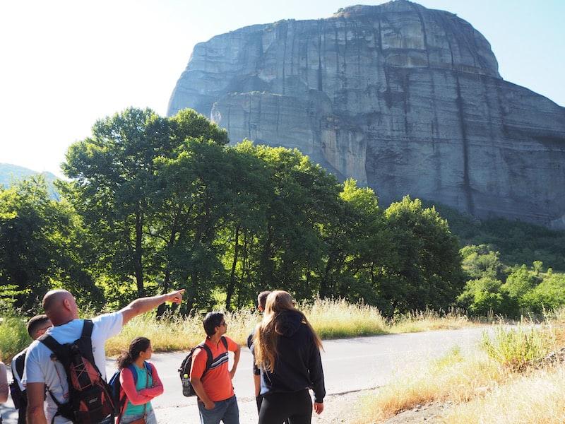 ... besser ist es da, Ihr entschließt Euch für eine kleine aber feine Morgenwanderung, wie sie von Visit Meteora angeboten wird ...