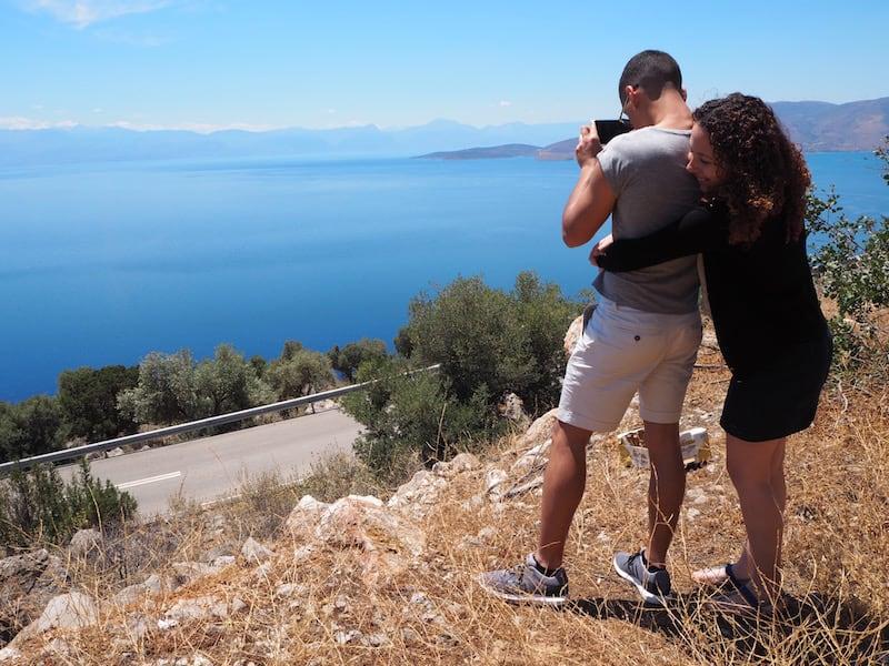 Unterwegs mit meiner spontanen Reisebekanntschaft, Kim & Clint, einem charmanten jungen Paar aus Malta ...