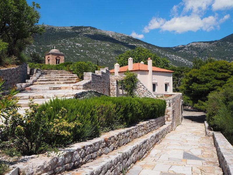 ... entdecken wir das Kloster Hosios Loukas ...