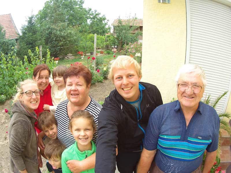 Radreise in Osteuropa : Unterwegs mit Freunden.
