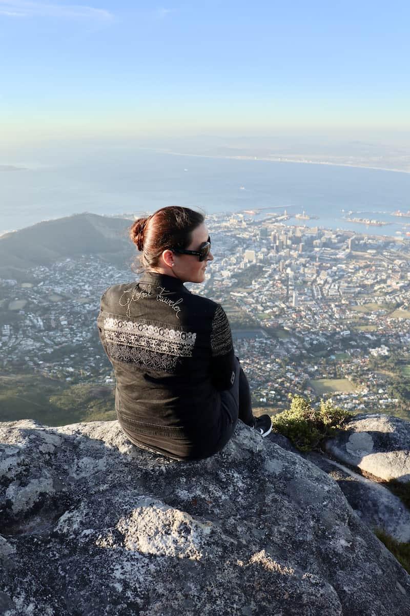 Kompliment an viele Jahre guter Arbeit: Blick vom Tafelberg in Kapstadt in Kooperation mit der Südafrikanischen Tourismusbehörde. (c) Christina Leutner / CitySeaCountry
