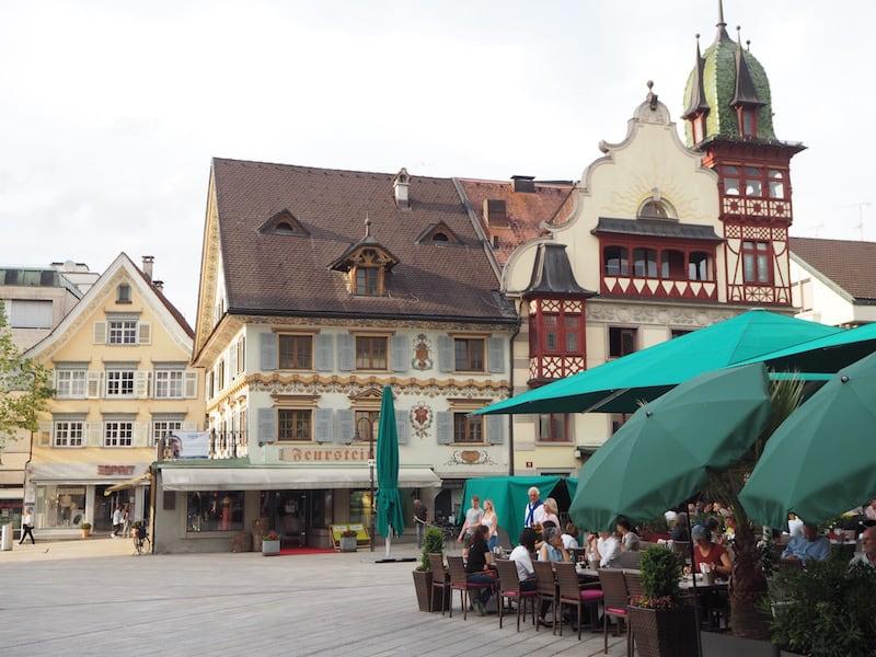 Wir beginnen unsere Reise in der entzückenden Kleinstadt Dornbirn ...