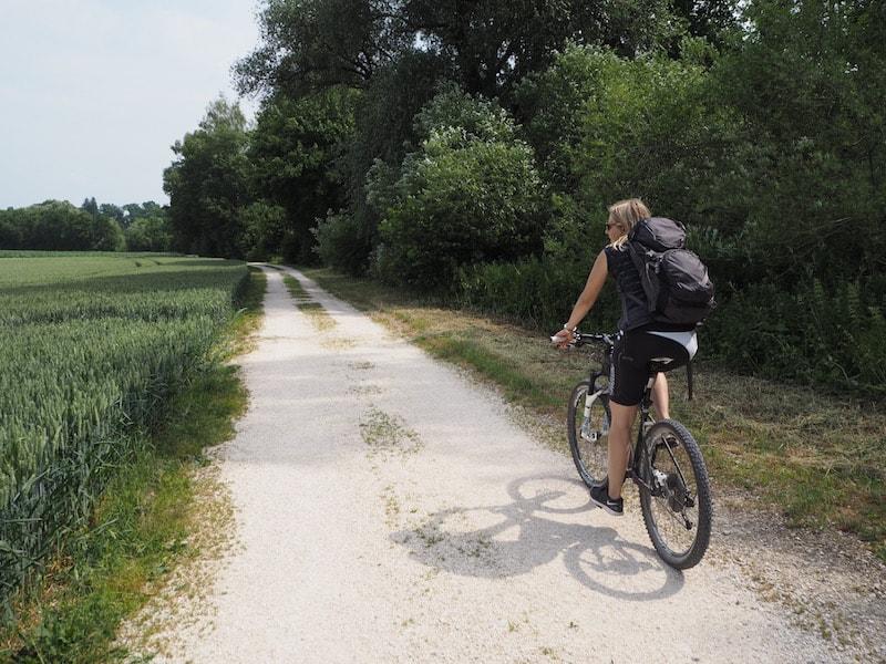 """Sportlich aktiv seid Ihr übrigens auch entlang der """"Donautäler"""" Radwege rund um Günzburg ..."""