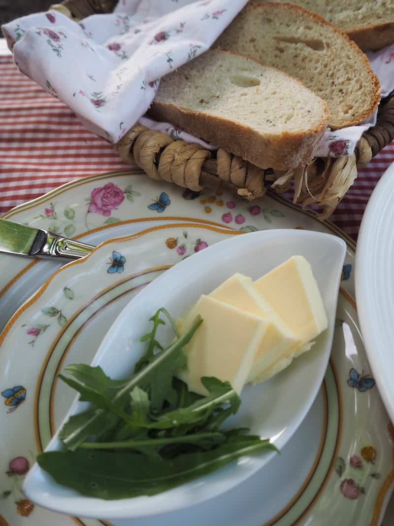 ... und genießen einmal mehr, die gute Küche des Hauses bei Abendessen & Frühstück.
