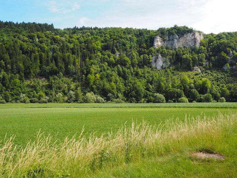 """Die traumhaften Landschaft des """"Donaubergland"""" ..."""