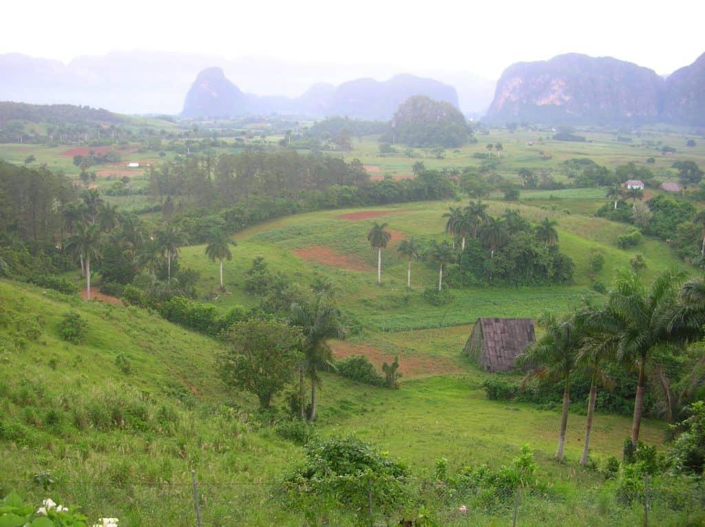 """... und kennt Ihr schon die berühmten """"Elefantenhöcker-Berge"""" rund um Viñales im Westen des Landes? Hier stehen einige der berühmtesten Tabakplantagen des Landes ..."""