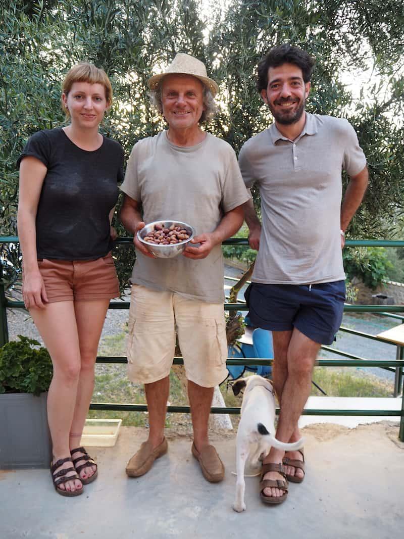 Vielen Dank für diese schönen, gemeinsamen Erinnerungen, liebe Inga, lieber Ioannis, lieber Tassos (von links nach rechts).!