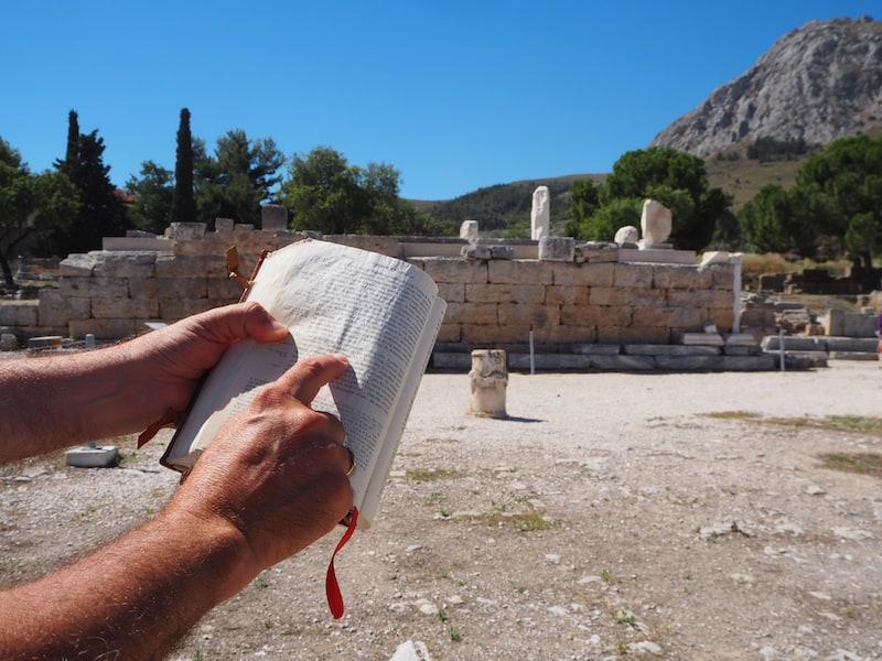 ... auf die der Apostel Paulus in vielen Bibelpassagen über Korinth Bezug nimmt ...