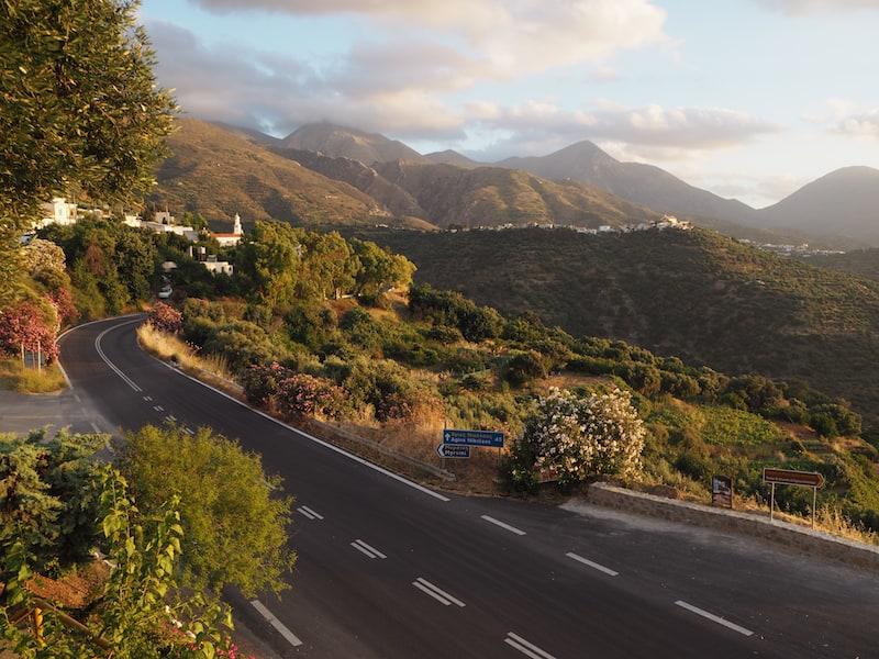 Magische Küstenstraßen in Kreta ...