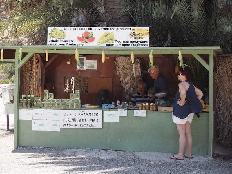 Spontan sein heißt : Gerne auch mal beim Gemüse- und Olivenöl-Händler um die Ecke kanisterweise flüssiges Gold einkaufen ..!