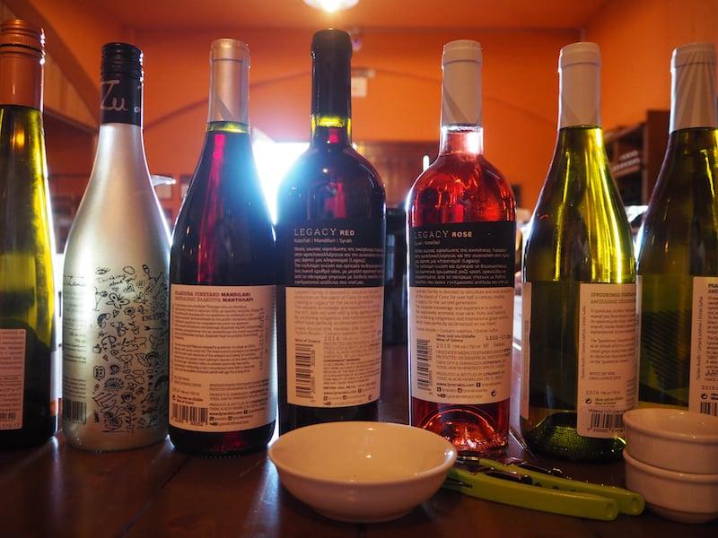 Auch die Weinregionen im Zentrum der Insel Kreta sind von hier aus in gut einer Stunde Fahrzeit leicht zu erreichen: