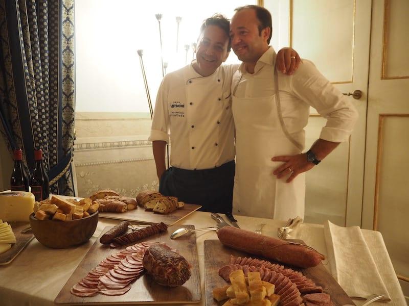 ... und ich denke, auch unsere Köche hatten so ihren Spaß mit uns! Grazie per l'amore nella cucina !