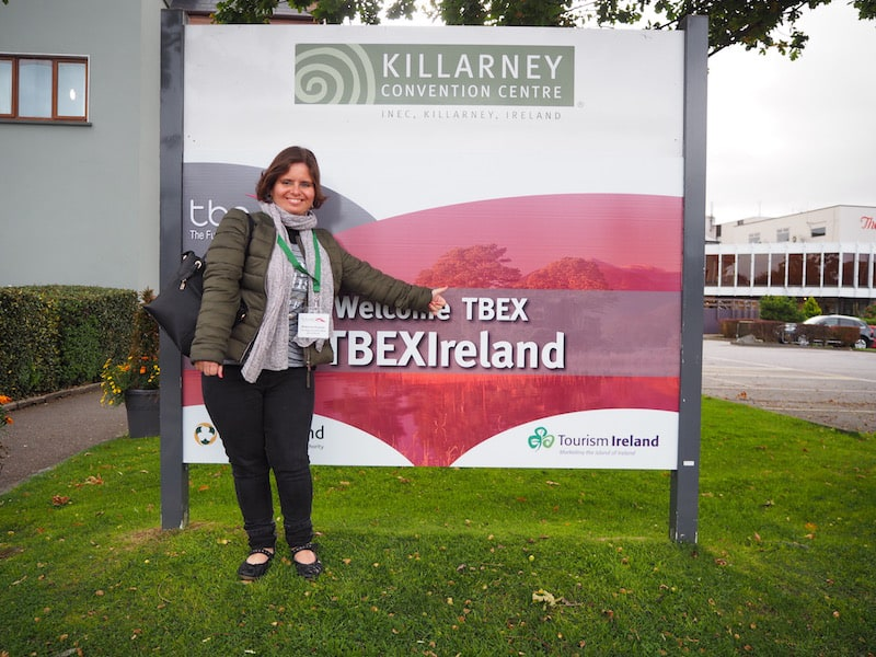 Welcome, Antonia Krauss, to her first ever TBEX conference!