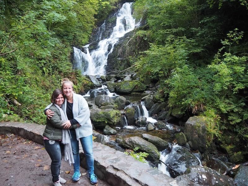 ... diesen schönen Wasserfall sollte man gesehen haben ...