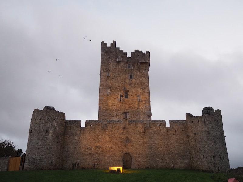 ... sowie natürlich auch das Killarney Castle, mystisch bis zum Geht-Nicht-Mehr!