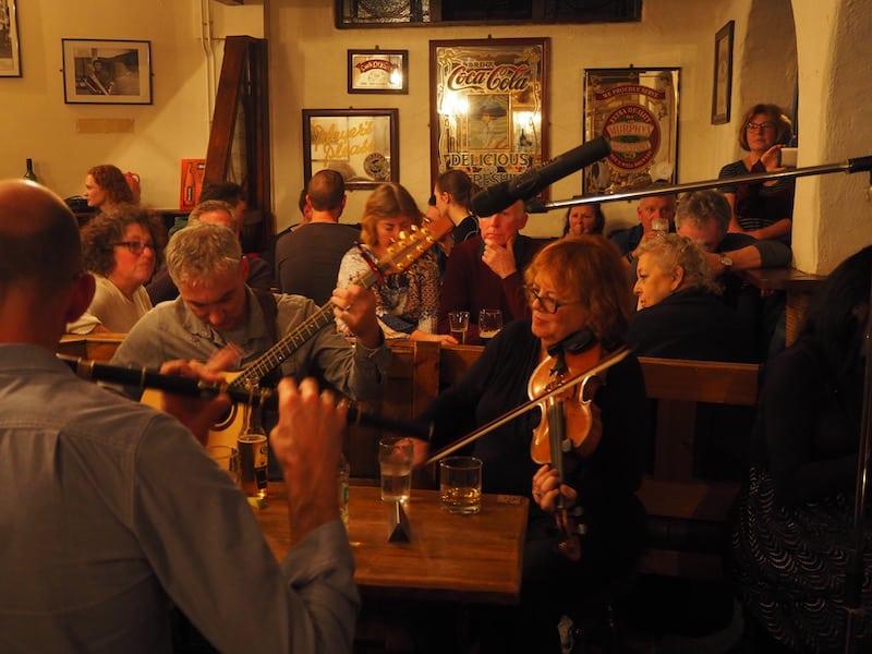... bis wir schließlich in O'Connor's Pub in Doolin ankommen