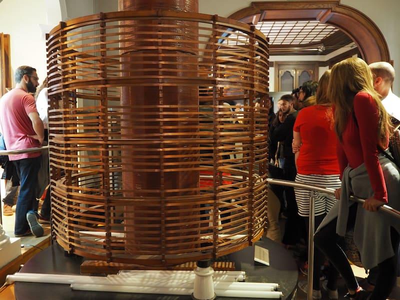 ... sowie der Besuch des Nikola Tesla-Museums: Wusstet Ihr, dass der
