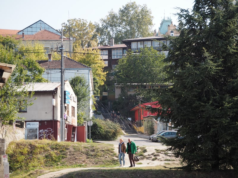 Unten am Fluss Sava, kurz bevor selbige in die Donau mündet ...