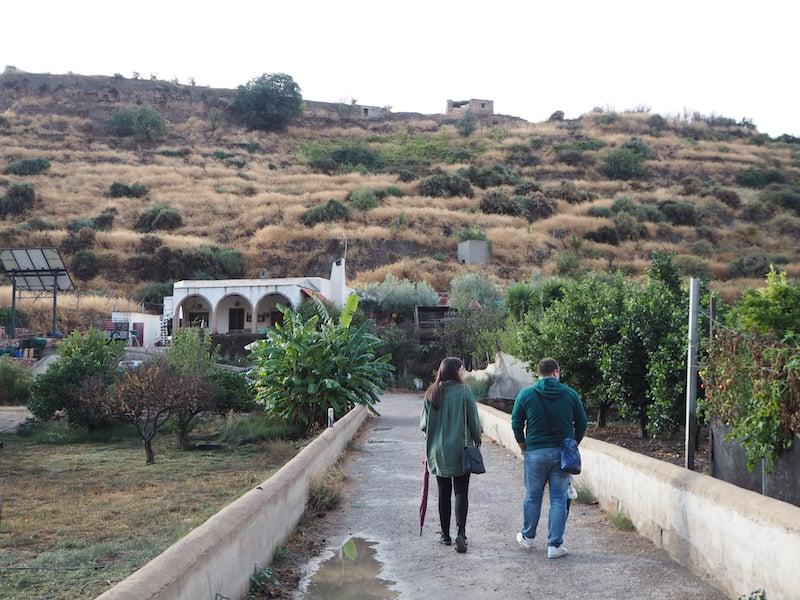 ... über diesen Link könnt auch Ihr hier in den Bergen des Hinterlandes von Almería entlang spazieren ...