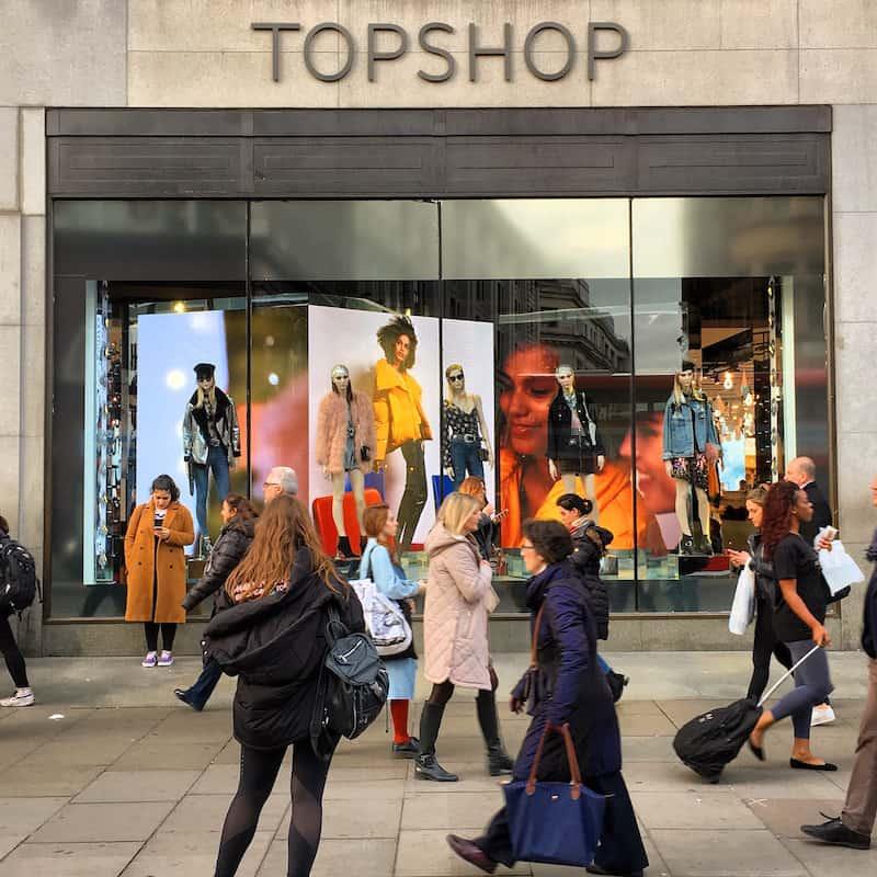 Wer nach London reist, darf - gerade als Frau - natürlich auch das Shoppen nicht auslassen ...