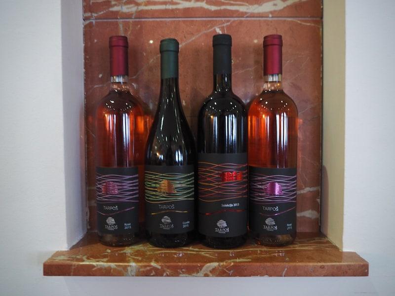 ... überhaupt finde ich können sich die Weine Serbiens wirklich sehen lassen!