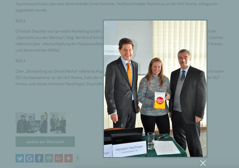 Im Bild zu sehen bin ich mit meinem Papa (rechts außen!) & seinem Kollegen Ernst Sommer von der HLF Krems!