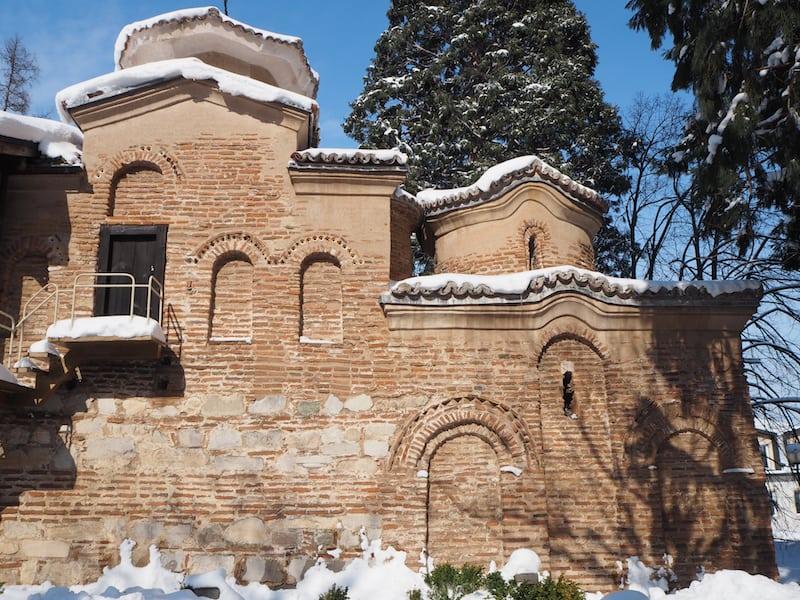 ... findet Ihr einige der ältesten und vor allem lebendigsten Farbfresken der orthodoxen Kirche.