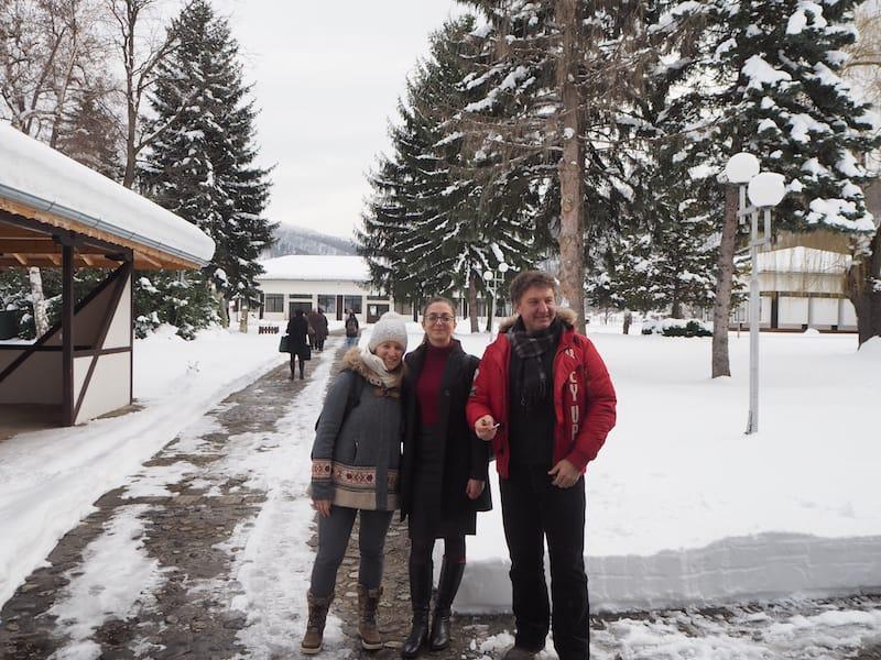 Vielen Dank Ivan Chakarov für den Besuch! Haltet Euch an Ivan, den Museumsdirektor, wenn Ihr hier seid: Er spricht sehr gut Deutsch und kennt sich hier wirklich gut aus.