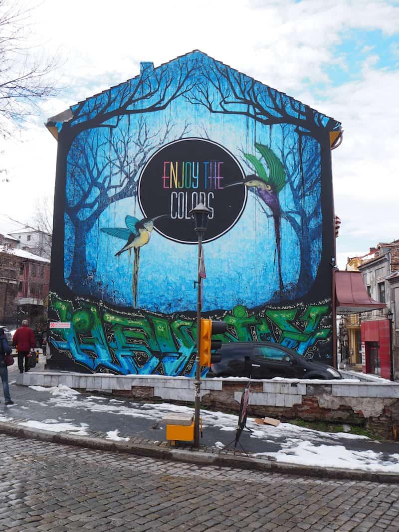 """Ein echtes Plädoyer für Plovdiv, sind meines Erachtens """"Baukunstwerke"""" wie diese ..."""