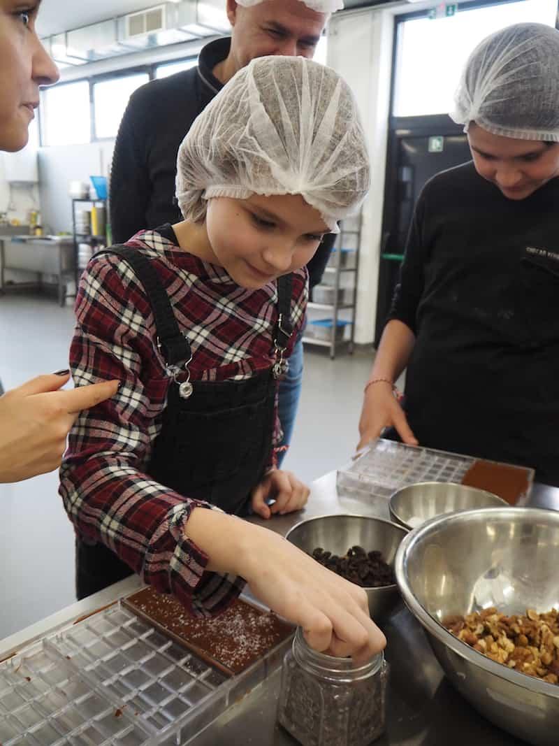 ... wenn uns Plovdiv lehrt, unsere eigene, köstliche Schokolade zu produzieren ...