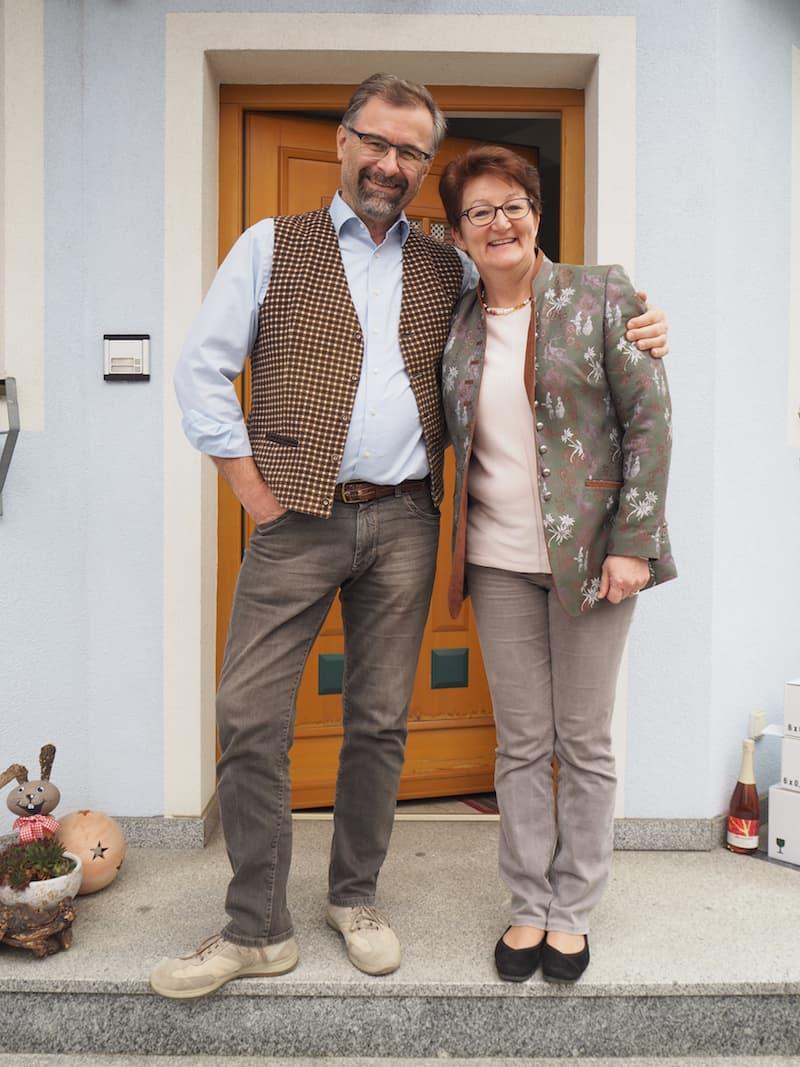 Vielen Dank für den sympathischen Besuch, liebe Gerda, lieber Christian!