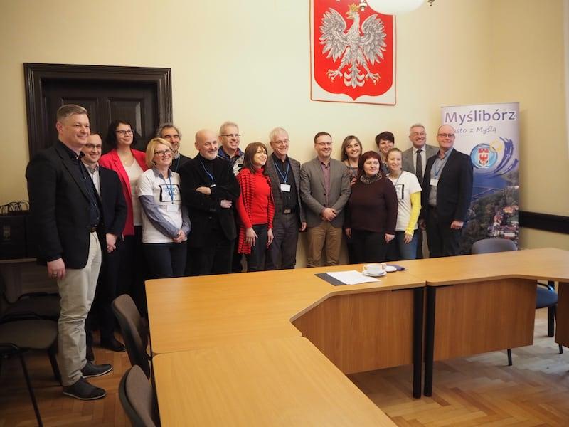 ... danke für den informativen und interessanten Besuch in Mysliborz ...