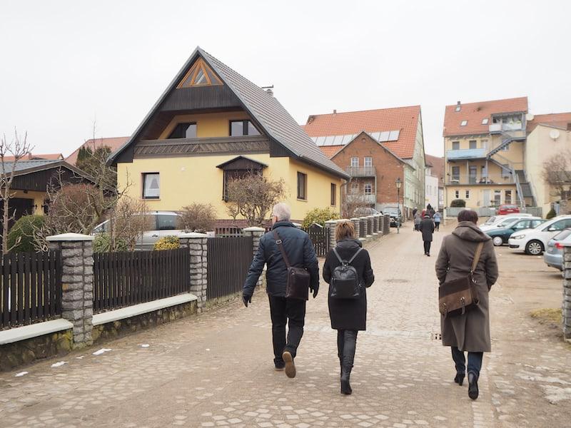 ... sich ein wenig in Angermünde, nahe der Grenze zu Polen, umzusehen ...