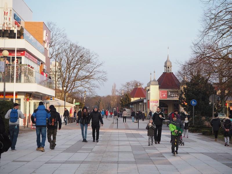 ... auch wenn die Stadt jetzt im Frühjahr noch ein wenig kühl anmutet ...
