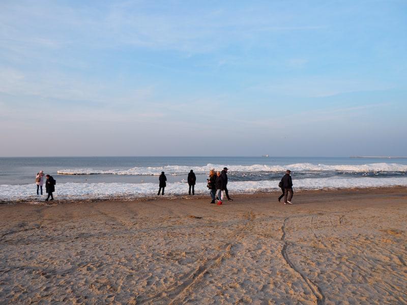 ... lassen die traumhaft weitläufigen Ostseestrände schon die Vorfreude auf Me(hr) im Sommer aufkommen!