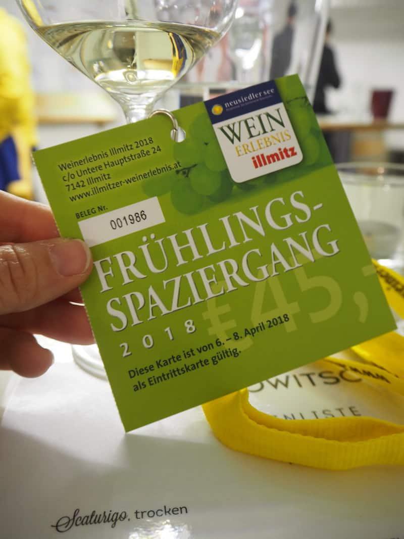 Los geht's beim Weinfrühling in Illmitz, dem frühesten in ganz Österreich ...