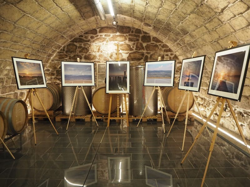 ... oder gar eine traumhaft schöne Fotoausstellung, wie hier beim Stromer in Purbach ...