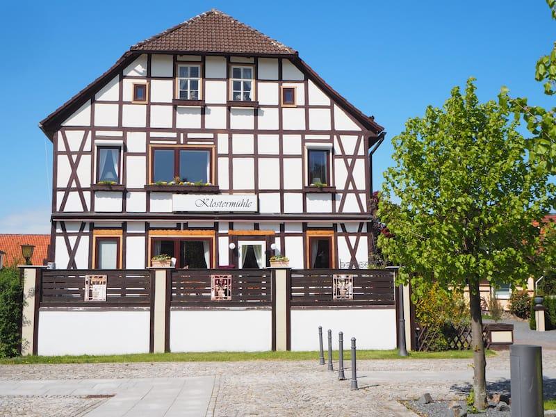Die Klostermühle Walkenried: Nomen est omen, sind wir hier doch ganz nah dran ...