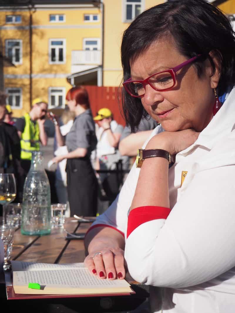 Danke Brigitta Palmqvist für die Organisation und Begleitung der Food Tour durch Porvoo ...