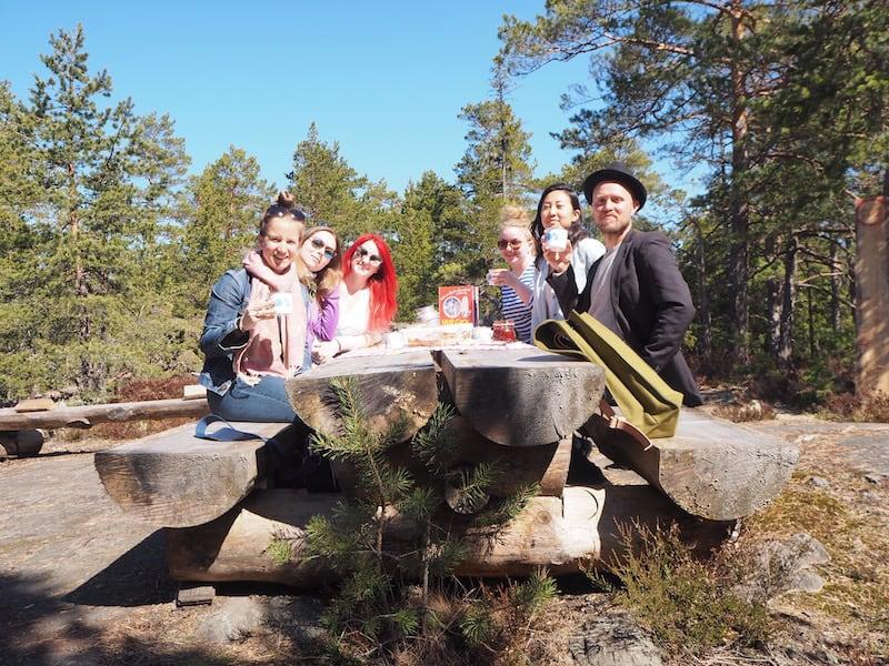 ... dieser Platz schließlich lohnt den Ausflug wirklich: Hier sind wir ganz für uns und können den Tag so richtig genießen. Danke für das tolle Picknick, liebe Erika & Team!