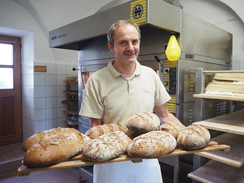 Die frischen Brote von Klosterbäcker Jens ...