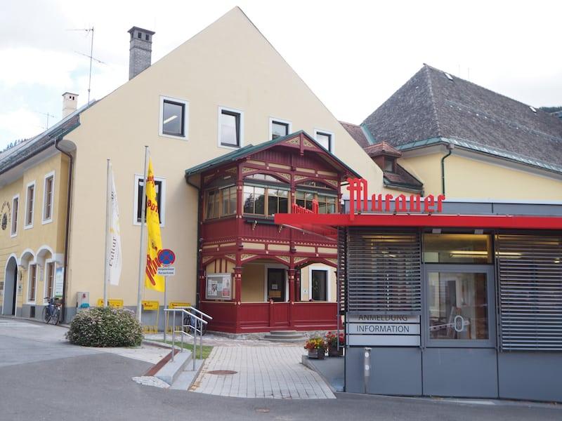 Die Brauerei Murau ...
