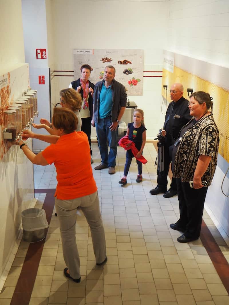 ... der Besucherrundgang ist ansprechend, informativ und interaktiv gehalten ...