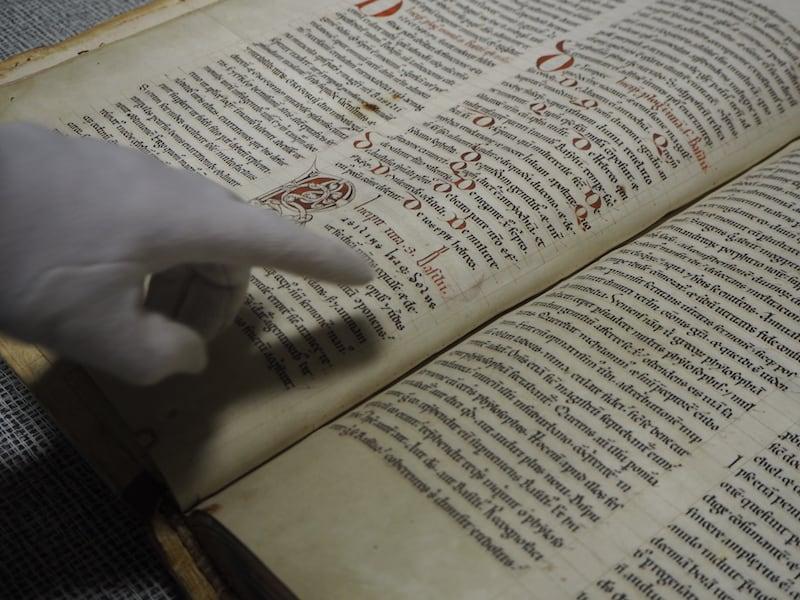 ... ist ein wirklich seltener Blick hinter die Kulissen: Als Bücherwurm faszinieren mich solche Einblicke naturgemäß ungemein ...