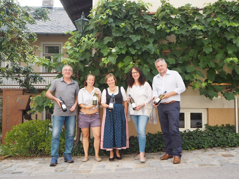 ... und sagen danke für den Besuch im Weinort Mödling!