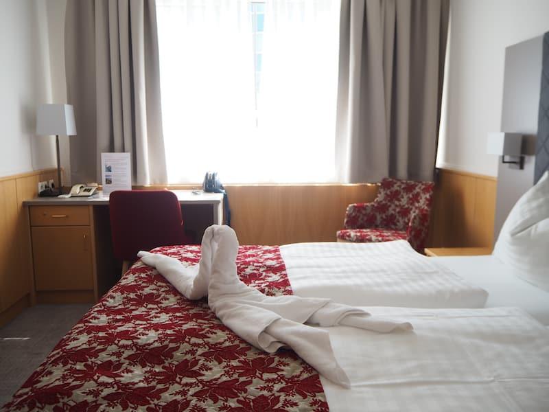 Vom Hotel Kolping aus ...