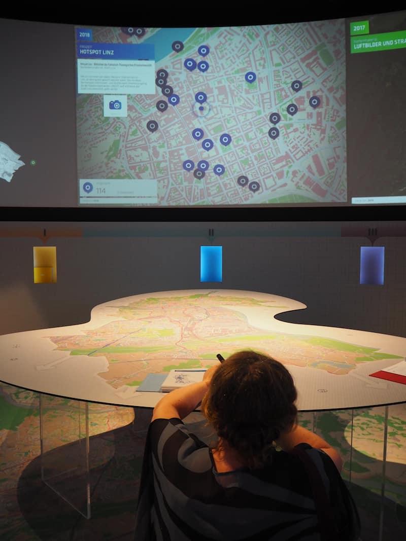... lieb' und lob ich mir das interaktive Design- und Forschungszentrum schon sehr.